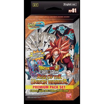 Foto van TCG Dragon Ball SCG Rise Of The Unison Warrior Premium Pack Set - Unison Warrior Series DRAGON BALL