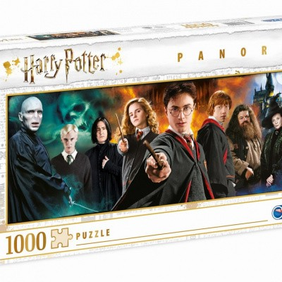Harry Potter Characters Panorama Puzzle 1000pc PUZZEL