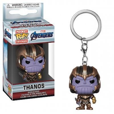 Pop! Keychain: Marvel Avengers - Thanos FUNKO