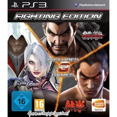 Foto van Fighting Edition (Soul Calibur V / Tekken Tag Tournament 2 / Tekken 6) PS3