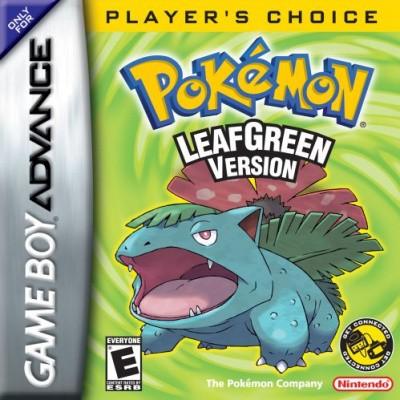 Foto van Pokemon LeafGreen Version - In Doos GBA