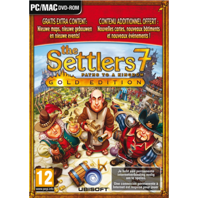 Foto van The Settlers 7 Paths To A Kingdom Gold Edition PC