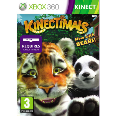 Kinectimals Nu Met Beren XBOX 360