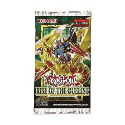 Foto van TCG Yu-Gi-Oh! Rise Of The Duelist Booster Pack YU-GI-OH
