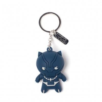 Foto van Marvel - Black Panther - Kawaii 3D Rubber Keychain