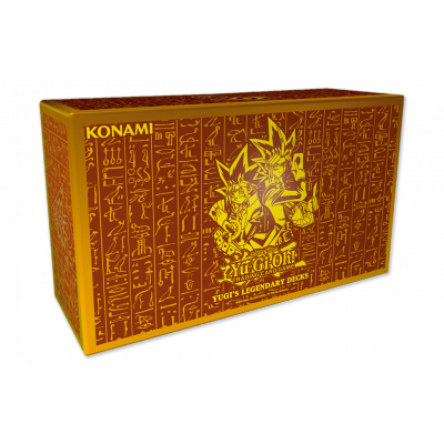 TCG Yu-Gi-Oh! King of Games - Yugi's Legendary Decks YU-GI-OH