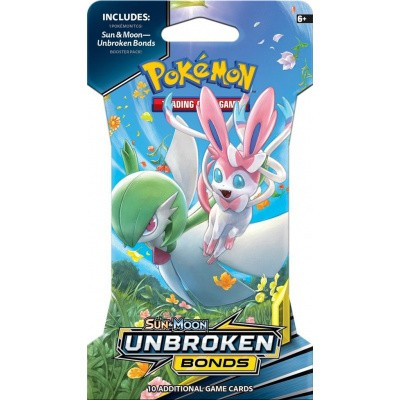 Foto van TCG Sleeved Booster Pack Pokemon Sun & Moon Unbroken Bonds POKEMON