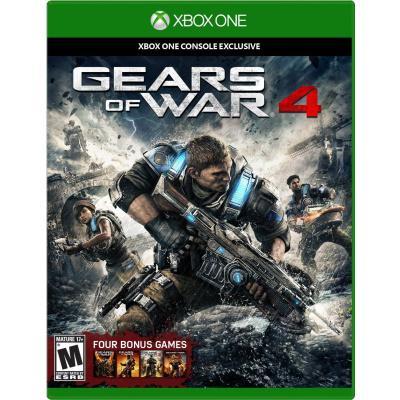 Gears Of War 4 + 4 bonus games XBOX ONE