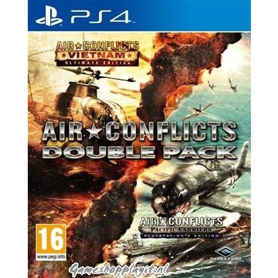 Air Conflicts Double Pack (Vietnam + Pacific Carries) PS4