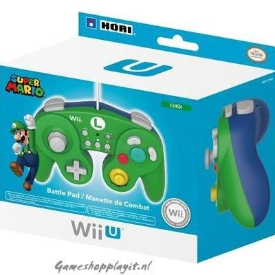 Foto van Hori Super Smash Bros Controller (Luigi)