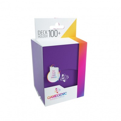 TCG Deckbox Deck Holder 100+ - Purple DECKBOX