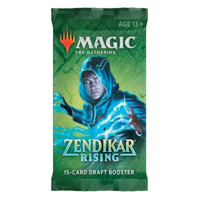 TCG Magic The Gathering Zendikar Rising Draft Booster Pack MAGIC THE GATHERING