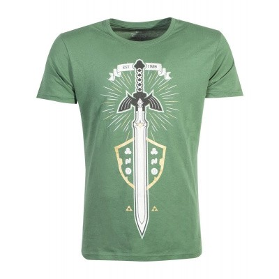 Zelda - The Master Sword Men's T-shirt - L MERCHANDISE
