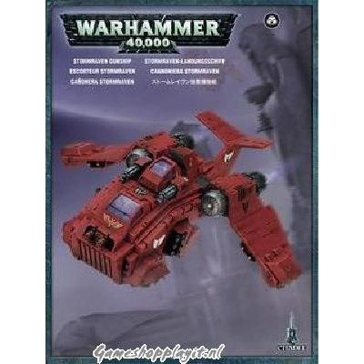 Foto van Blood Angels Stormraven Gunship Warhammer 40k