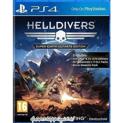 Foto van Helldivers: Super-Earth Ultimate Edition PS4