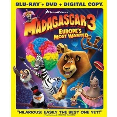 Foto van Madagascar 3 BLU-RAY MOVIE