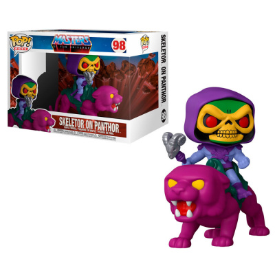 Foto van Pop! Retro Toys: Masters of the Universe - Skeletor on Panthor FUNKO