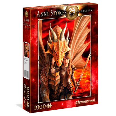 Anne Stokes Inner Strength Puzzle 1000pc PUZZEL