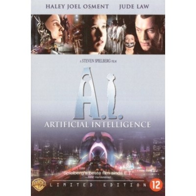 Foto van Artificial Intelligence Limited Edition DVD MOVIE