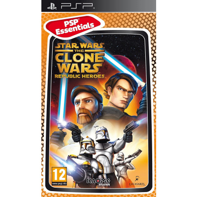 Star Wars The Clone Wars Republic Heroes (Essentials) PSP