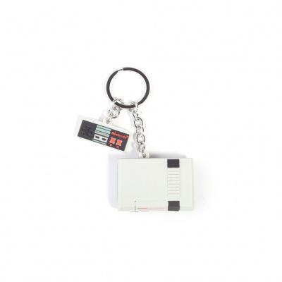 Foto van Nintendo - NES 3D Rubber Keychain MERCHANDISE