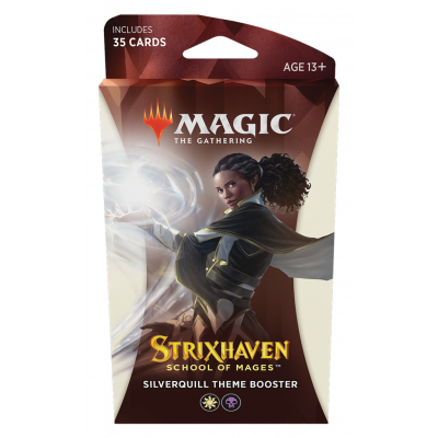 TCG Magic The Gathering Strixhaven White Theme Booster - Silverquill MAGIC THE GATHERING