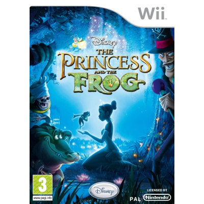 Foto van Disney The Princess And The Frog WII