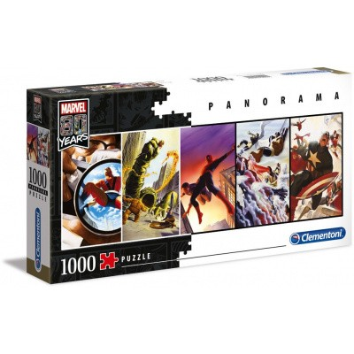 Marvel 80 Years Panorama Puzzle 1000pc PUZZEL