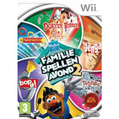 Hasbro Familie Spellen Avond 2 WII