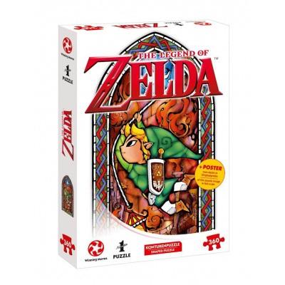 Foto van The Legend Of Zelda Link Adventurer Puzzle 360pc PUZZLE