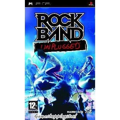 Foto van Rock Band Unplugged PSP