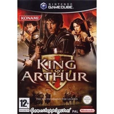 Foto van King Arthur Nintendo GameCube