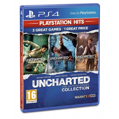 Uncharted: The Nathan Drake Collection (PlayStation Hits) PS4
