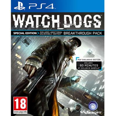 Foto van Watch Dogs Special Edition PS4