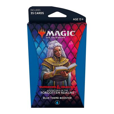 Foto van TCG Magic The Gathering D&D Forgotten Realms Blue Theme Booster MAGIC THE GATHERING