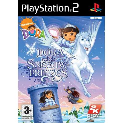 Dora Redt De Sneeuwprinses PS2
