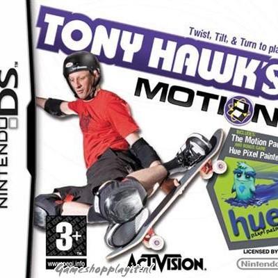 Tony Hawk's Motion NDS