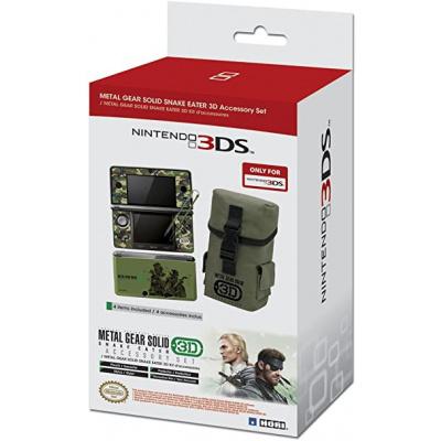 Foto van Metal Gear Solid Snake Eater 3D Accessory Set 3DS