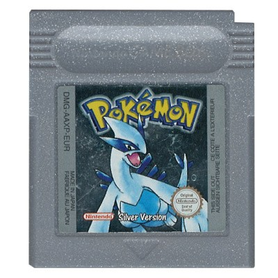 Foto van Pokemon Silver Version GBC LOSSE GAME