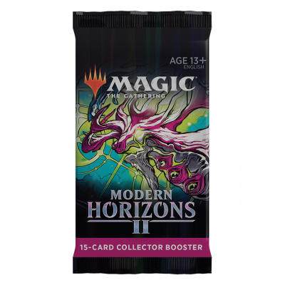 Foto van TCG Magic The Gathering Modern Horizons 2 Collector Booster Pack MAGIC THE GATHERING