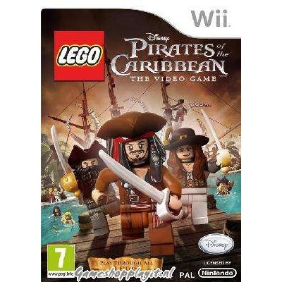Lego Pirates Of The Caribbean The Video Game WII