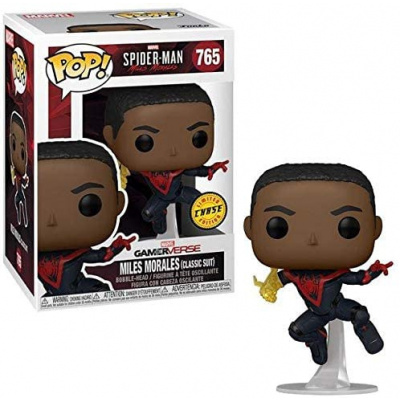 Pop! Marvel Spider-Man: Miles Morales - Miles Morales Classic Suit (Chase Edition) FUNKO