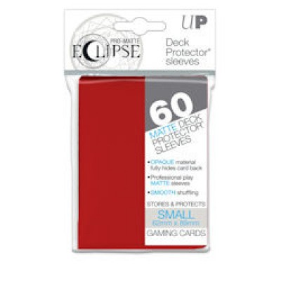 TCG Sleeves Pro-Matte Eclipse - Apple Red (Small Size) SLEEVES