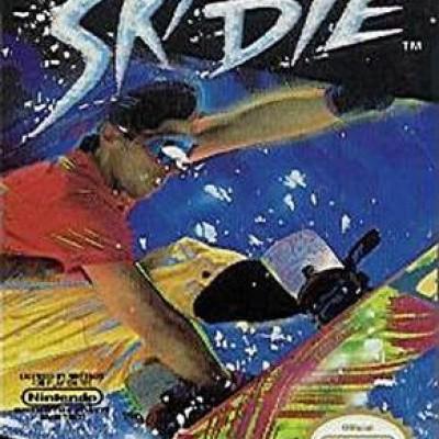 Foto van Ski Or Die (Losse Cassette) NES