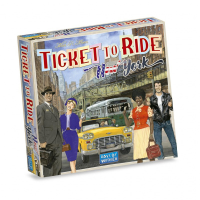 Foto van Ticket To Ride New York NL BORDSPELLEN