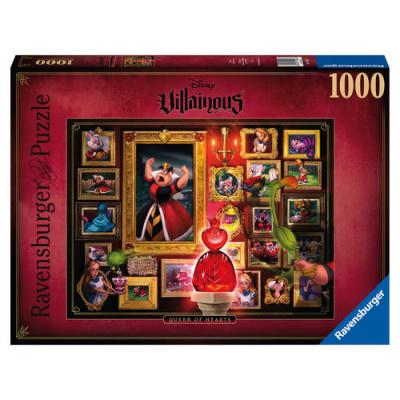 Disney Villains Queen of Hearts puzzle 1000pc PUZZEL