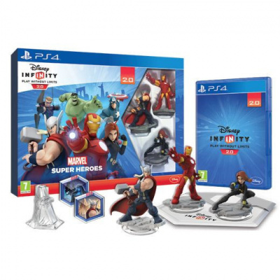 Disney Infinity 2.0 Marvel Super Heroes Starter Pack PS4