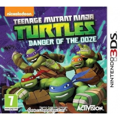 Foto van Teenage Mutant Ninja Turtles Danger Of The Ooze 3DS