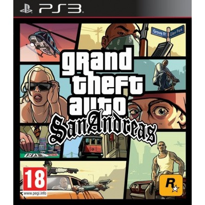 Grand Theft Auto San Andreas PS3
