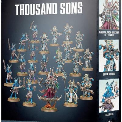 Foto van Start Collecting! Thousand Sons WARHAMMER 40,000